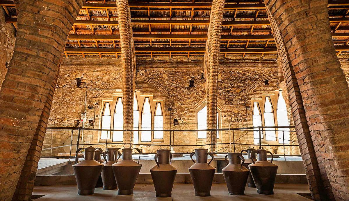 La Catedral del vi dans Pinell de Brai
